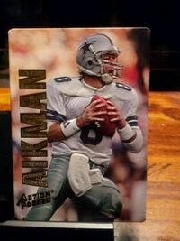 1993 TROY AIKMAN ACTION PACKED