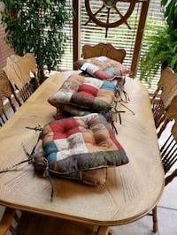 Chair Cushions x8