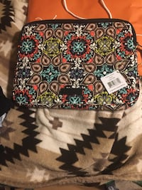 pink, green, blue, black, white, and teal floral quilted bag Scottsville, 42164