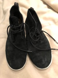 Ugg men's black leather shoes size 12 US