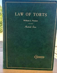 Law Of Torts, #4th Edition