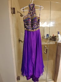 Purple Dress Size 10  Falls Church
