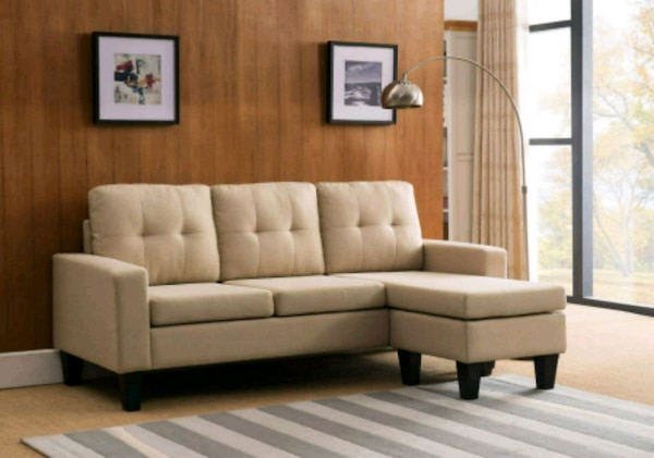 Prime Linen Sectional Sofa Bed With Reversible Chaise Or Machost Co Dining Chair Design Ideas Machostcouk