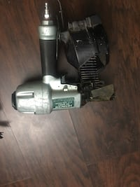 black and gray Hitachi cordless power drill Decatur, 30034