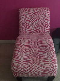 pink and white striped fabric sofa chair Clinton, 20735