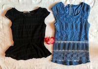 Black & blue lace tops Salinas, 93905