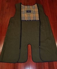 Zippered Liner from an authentic Burberry men's trench coat Tysons