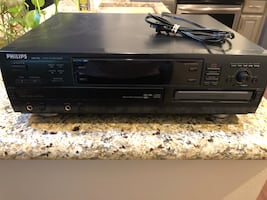 Philips DVD Player and Recorder.