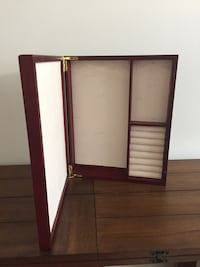Hanging Jewelry Box w/ Mirror  Herndon, 20171