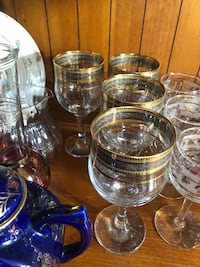 4 Europe wine crystal glasses. $8 for the set of 4 Hamilton, L9A 1T3