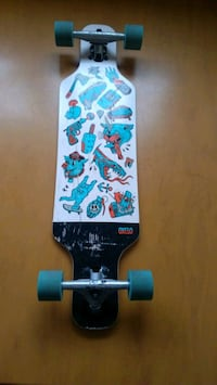 Longboard mini drop core (OXELO) Cergy, 95000