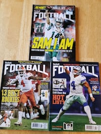 NFL football quarterback Beckett magazines