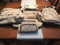Pottery Barn Kids diaper bag set of 3 bags + accessories Fairfax, 22032