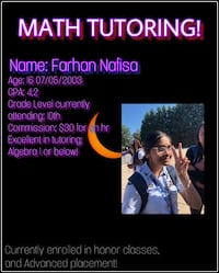 Math tutor Greenbelt