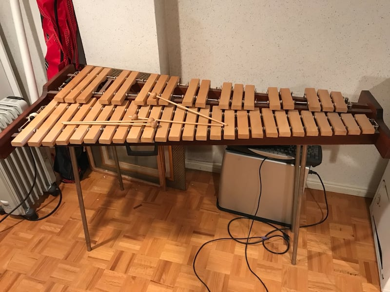 Xylophone with carrying case Mint Condition - full size fab45a0e-38ce-495d-878b-48c90093d992