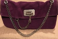 Michael Kors purple suede purse Silver Spring, 20904