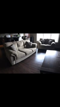 Couch and love seat with pillows  Spruce Grove, T7X