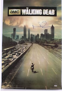 Walking Dead Daryl Autographed Poster Miami, 33173