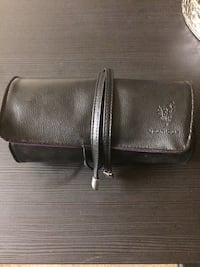Younique Brush Roller Bag-High end Quality made with real Leather Springfield, 97477