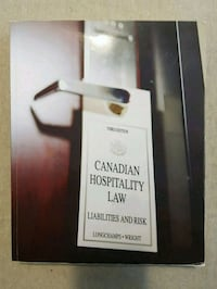 Canadian Hospitality Law: Liabilities and Risk Ottawa, K2K