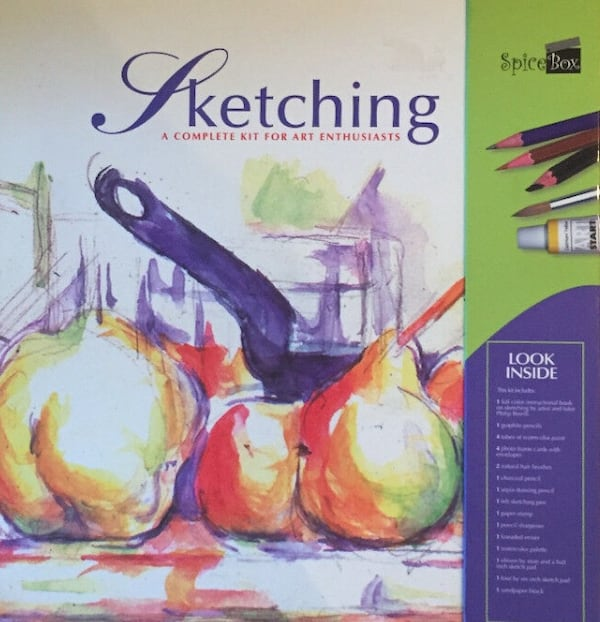 Sketching: A Complete Kit for Art Enthusiasts, factory sealed 6fe7d0c4-a890-4372-a11d-204896fac8f4