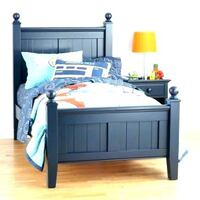 Twin / Single Bed, Land of Nod Newton