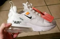 """Nike Airmax 270 """"Off-White"""" dont release till Sept Panama City Beach"""