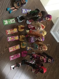 10 Ever After High Dolls Vaughan, L4H 0Y3