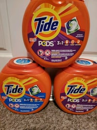 New tidepods 81 loads bundle