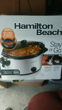 Hamilton Beach slow cooker box 41 km