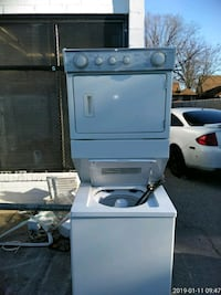 white front load clothes dryer Prince George's County