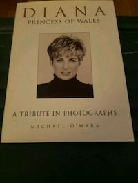 Diana Princess Of Wales A Tribute Of Photographes By Michael O'Mara Emmaus, 18049