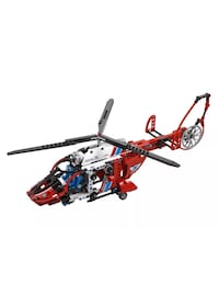 red and white plastic helicopter toy Ashburn, 20147