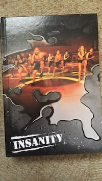 Insanity workout dvds  Coquitlam, V3E 2H3