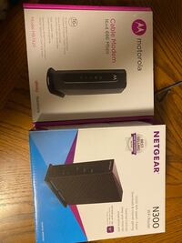 Modem and router combo