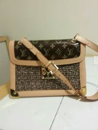 brown and beige Louis Vuitton leather handbag Tolland, 06084