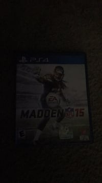 Sony PS3 Madden NFL 15 game case Shenandoah Junction, 25442