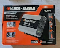 Black & Decker 1000W Power Inverter -- BRAND NEW!  Brampton, L6Y 2N4