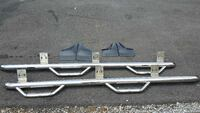 Stainless step bars for 09 Dodge 1500 72 km
