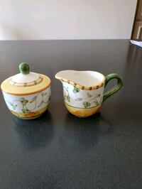 Cream and covered sugar set  Vaughan, L4J 7T5
