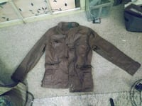 brown button-up jacket Topeka, 66604