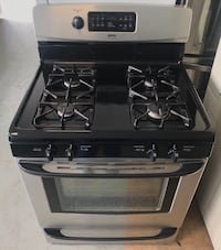 Frigidaire stainless steel gas stove 90 days warranty