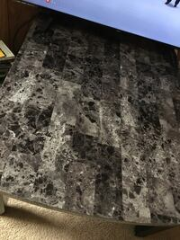 Gray and black marble top table Hagerstown, 21740