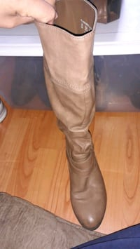 Joe boxer size 9 brown knee high boots  Hagerstown, 21742