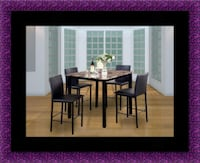 Counter high table with 4 chairs Alexandria, 22306