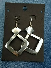 Sterling silver, handcrafted earrings  San Jose, 95134
