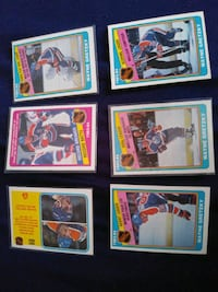 1984 OPC WAYNE GRETZKY HOCKEY CARDS