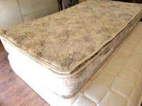 Single mattress pillowtop 75$ delivery 30$  Edmonton, T5Z 3G2