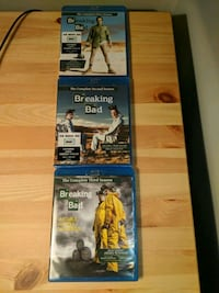 Seasons 1-3 Breaking Bad, Blue Ray Brooklyn, 11238