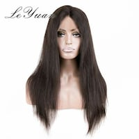 women's black hair mannequin